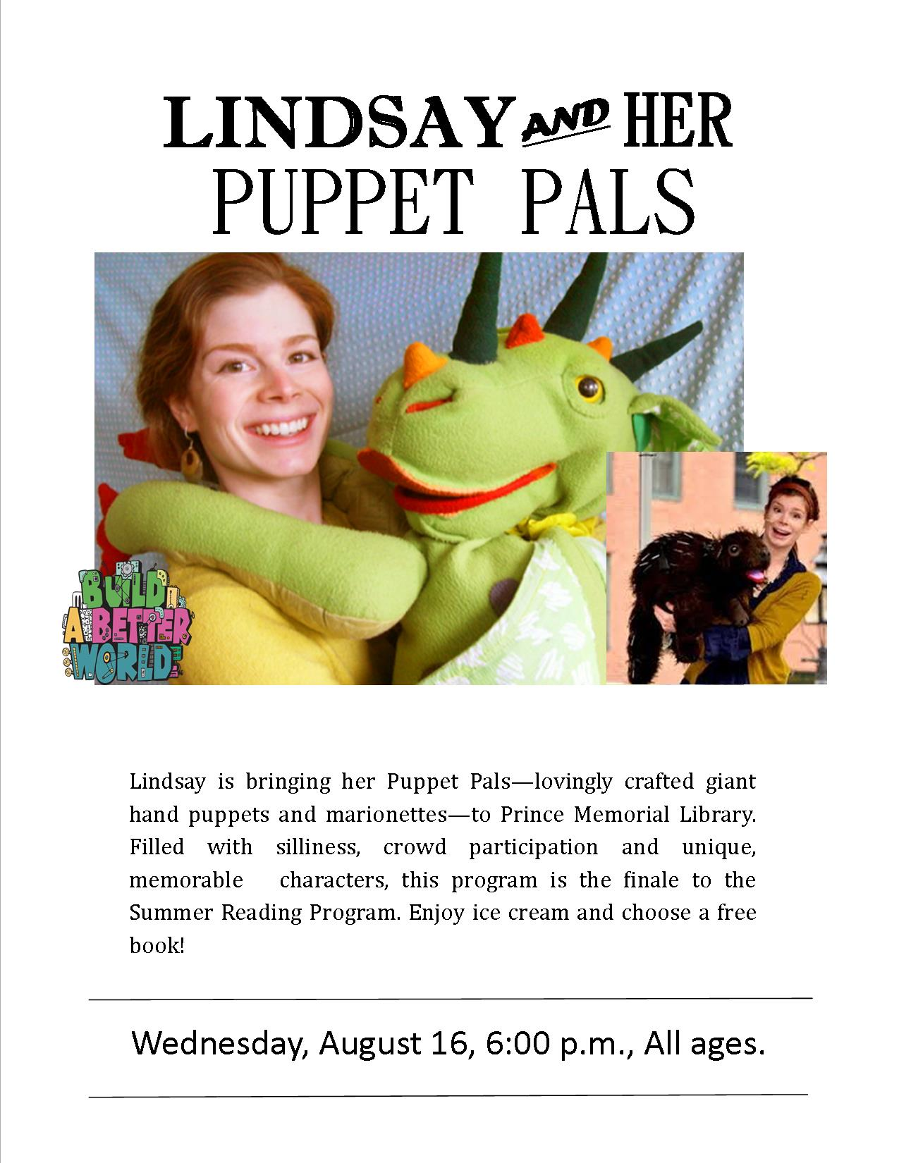 Lindsay's Puppets 2017